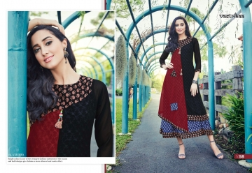 VASTRIKAA PLUSH VOL 2 GEORGETTE KURTI WHOLESALE PRICE(3)JPG