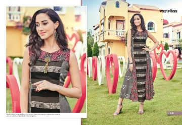 VASTRIKAA PLUSH VOL 2 GEORGETTE KURTI WHOLESALE PRICE(7)JPG