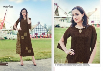VASTRIKAA PLUSH VOL 2 GEORGETTE KURTI WHOLESALE PRICE(9)JPG