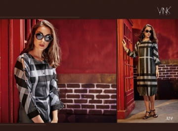 VINK CHECKMATE RAYON PRINTED PARTY WEAR  KURTIS WHOLESALE PRICE(8)JPG
