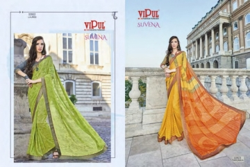 VIPUL FASHION SUVENA TRENDY GEORGETTE PARTY WEAR SAREES WHOLESALE SUPPLIER PRICE(12)JPG