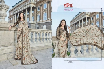 VIPUL FASHION SUVENA TRENDY GEORGETTE PARTY WEAR SAREES WHOLESALE SUPPLIER PRICE(14)JPG