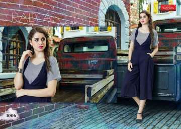 WANNA PARKER RAYON JUMP KURTIS WHOLESALE PRICE (4) JPG
