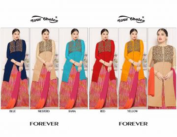 YOUR CHOICE FOREVER COTTON SALWAR SUITS WHOLESALE PRICE (6) JPG