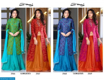 YOUR CHOICE GORGEOUS COTTON WESTERN SALWAR SUITS WHOLESALE PRICE (2) JPG