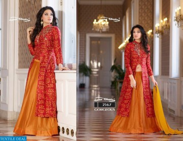 YOUR CHOICE GORGEOUS COTTON WESTERN SALWAR SUITS WHOLESALE PRICE (3) JPG
