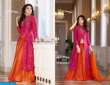 YOUR CHOICE GORGEOUS COTTON WESTERN SALWAR SUITS WHOLESALE PRICE (5) JPG