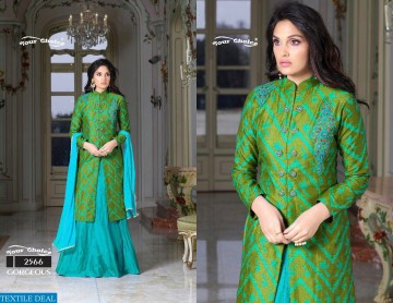 YOUR CHOICE GORGEOUS COTTON WESTERN SALWAR SUITS WHOLESALE PRICE (6) JPG