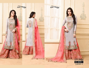 YOUR CHOICE SARARA VOL 4 PARTY WEAR EMBROIDED SUITS WHOLESALE SUPPLIER SURAT (5) JPG
