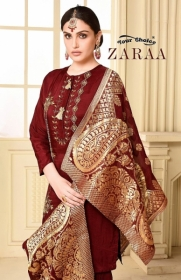 YOUR CHOICE ZARA GEORGETTE PARTY WEAR SUITS WHOLESALE PRICE (1) JPG