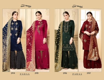 YOUR CHOICE ZARA GEORGETTE PARTY WEAR SUITS WHOLESALE PRICE (6) JPG